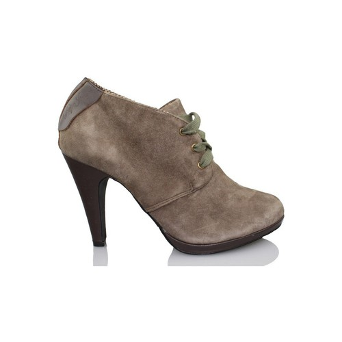 Zapatos Mujer Low boots Pepe jeans BROWN HI HEEL MARRON