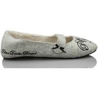 Zapatos Mujer Pantuflas Pepe jeans IR POR CASA HOME GRIS