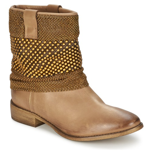 Zapatos Mujer Botas de caña baja Strategia MAILLETT Oro