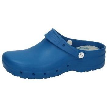 Zapatos Hombre Zuecos (Clogs) Feliz Caminar Zueco azul elÉctrico AZUL