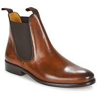 Zapatos Hombre Botas de caña baja Brett & Sons BERNARD Cognac