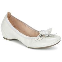 Zapatos Mujer Bailarinas-manoletinas Hispanitas VALENCE Blanco
