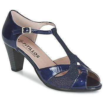 Zapatos Mujer Sandalias Pitillos MARILOU Marino