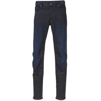 textil Hombre Vaqueros slim G-Star Raw 3301 SLIM Dark / Envejecido / Calumnia / Super / Stretch / Denim