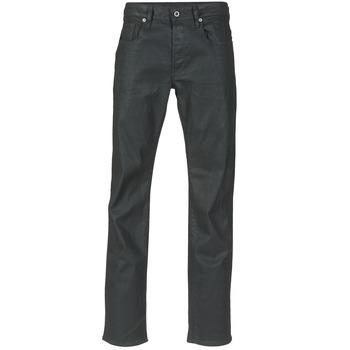 textil Hombre vaqueros rectos G-Star Raw 3301 STRAIGHT Negro