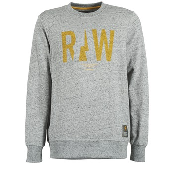 textil Hombre sudaderas G-Star Raw RIGHTREGE R SW L/S Gris