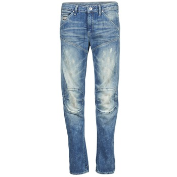 textil Mujer vaqueros rectos G-Star Raw 5620 3D LOW BOYFRIEND WMN Medium / Envejecido / Painted / DENIM