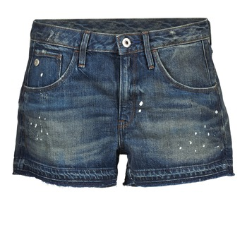 textil Mujer Shorts / Bermudas G-Star Raw ARC BF RIPPED SHORT WMN Azul