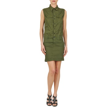 G-Star Raw ROVIC SLIM DRESS WMN S/LESS Kaki