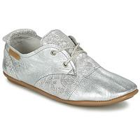 Zapatos Mujer Derbie Pataugas SWING/CA Plateado