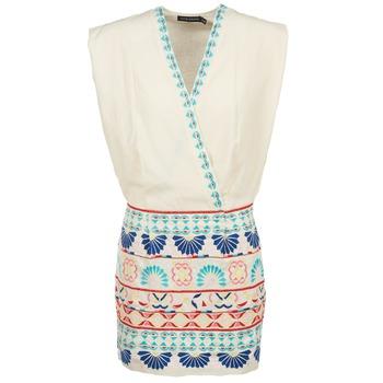 textil Mujer Vestidos cortos Antik Batik POLIN Blanco / Multicolor