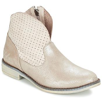 Zapatos Niña Botas de caña baja Ikks CINDY Plateado