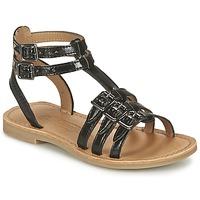 Zapatos Niña Sandalias Shwik LAZAR BUCKLE Negro