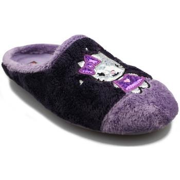 Zapatos Mujer Pantuflas Cabrera MONTBLAC W MORADO