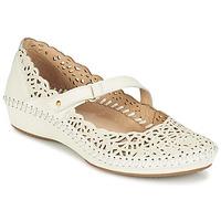 Zapatos Mujer Bailarinas-manoletinas Pikolinos PUERTO VALLARTA 655 Blanco