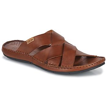 Zapatos Hombre Zuecos (Mules) Pikolinos TARIFA Marrón