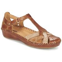 Zapatos Mujer Sandalias Pikolinos PUERTO VALLARTA 655 Camel
