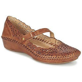 Zapatos Mujer Bailarinas-manoletinas Pikolinos PUERTO VALLARTA 655 Camel