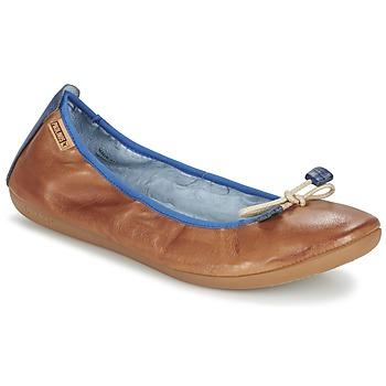 Zapatos Mujer Bailarinas-manoletinas Pikolinos BORA BORA Camel