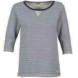 textil Mujer sudaderas Napapijri BOISSERON Marino / Blanco