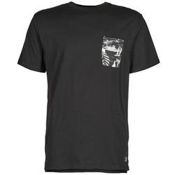 textil Hombre camisetas manga corta DC Shoes WOODGLEN Negro