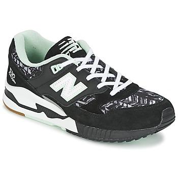 Zapatos Mujer Zapatillas bajas New Balance W530 Negro / Blanco