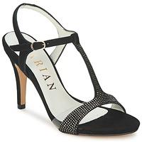 Zapatos Mujer Sandalias Marian ANTE FINO Negro