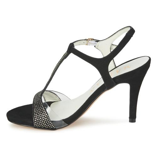 Negro Mujer Fino Sandalias Marian Zapatos Ante KJTlFc1