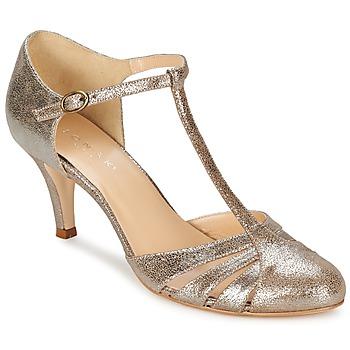 Zapatos Mujer Zapatos de tacón Jonak LAURAIA Dorado / Topotea