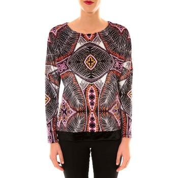 textil Mujer Sudaderas Custo Barcelona Sweat en velours Sur Heir multicouleurs Multicolor
