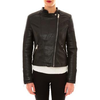textil Mujer Chaquetas de cuero / Polipiel Comme Des Filles Comme des Garçons Perfecto 8A007 noir Negro
