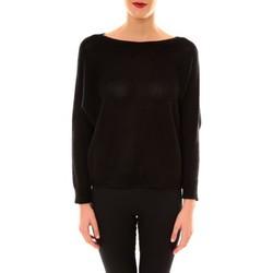 textil Mujer Jerséis De Fil En Aiguille Pull Galina noir Negro