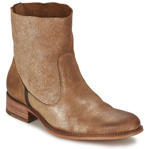 Zapatos Mujer Botas de caña baja n.d.c. SANDRINE SOFTY BRILLO Dorado