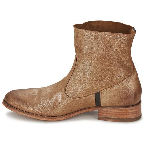 N Brillo Dorado Softy Botas cSandrine Zapatos Caña Baja d Mujer De UGLqMVpSz