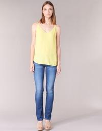 textil Mujer vaqueros rectos Pepe jeans GEN Azul / D45