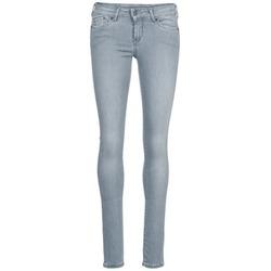textil Mujer vaqueros slim Pepe jeans PIXIE Gris / Q81