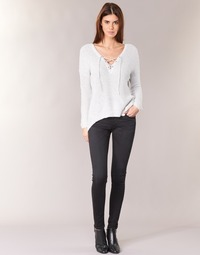 textil Mujer Vaqueros slim Pepe jeans SOHO S98 / Negro