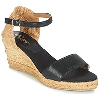 Zapatos Mujer Sandalias Betty London ANTE Negro