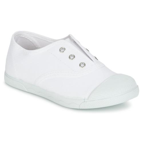 Zapatos Niños Zapatillas bajas Citrouille et Compagnie RIVIALELLE Blanco