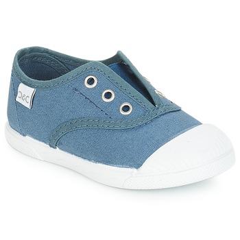 Zapatos Niños Zapatillas bajas Citrouille et Compagnie RIVIALELLE Azul / Jeans
