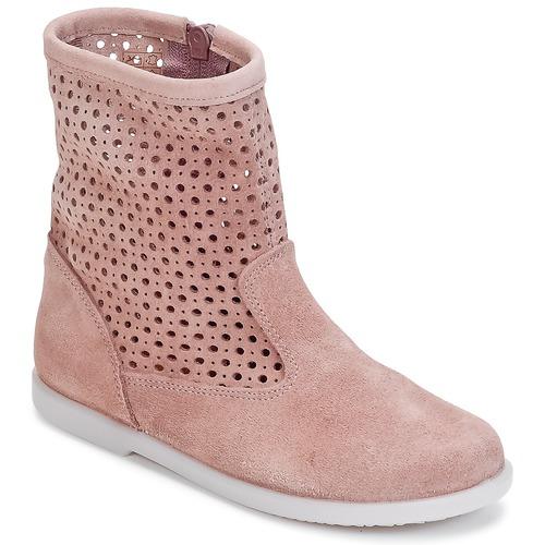 Zapatos Niña Botas de caña baja Citrouille et Compagnie BOREAL Rosa