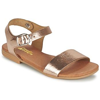 Zapatos Niña Sandalias Citrouille et Compagnie JOUBI Cobre