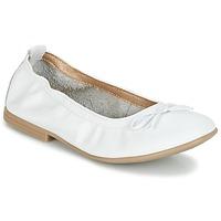 Zapatos Niña Bailarinas-manoletinas Citrouille et Compagnie JAPPALIE MOCA Blanco