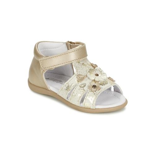 Zapatos Niña Sandalias Citrouille et Compagnie PAQUETI Beige