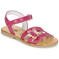 Zapatos Niña Sandalias Citrouille et Compagnie CHOUPINETTE Fucsia