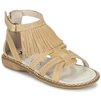 Zapatos Niña Sandalias Citrouille et Compagnie CONQUITA Beige
