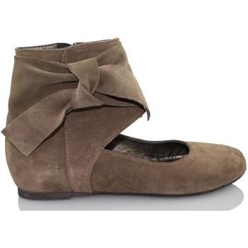 Zapatos Mujer Bailarinas-manoletinas Paco Herrero TUCSON MARRON