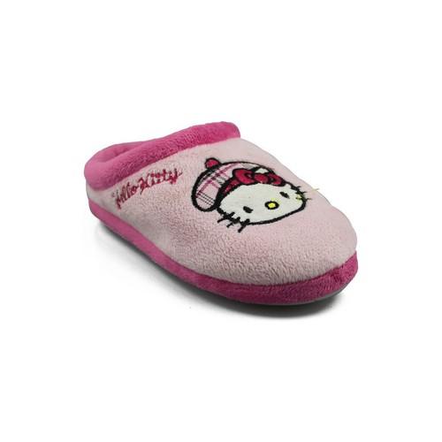 Zapatos Niña Pantuflas Hello Kitty KAMELLE ROSA