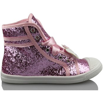 Zapatos Niña Zapatillas altas Hello Kitty CAMOMILLA MILANO GLIPPER ROSA
