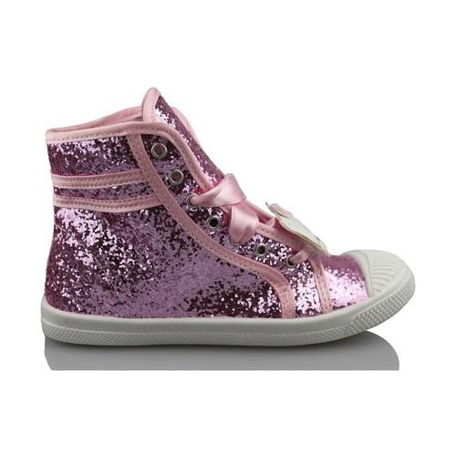 Zapatos Niña Zapatillas altas Hello Kitty CAMOMILLA MILANO GLIPPER ROSA